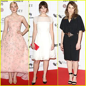 Elle Fanning & Felicity Jones: British Independent Film Awards 2012!