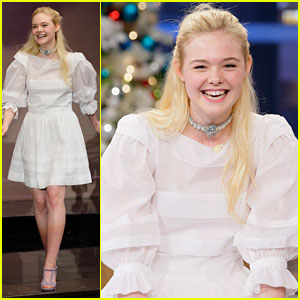 Elle Fanning: 'Tonight Show with Jay Leno' Appearance!