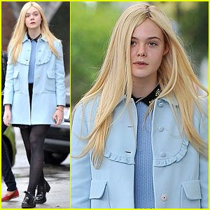 Elle Fanning: Milky Way Lunch!