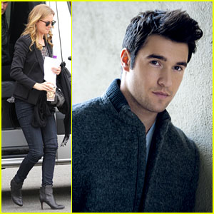 Emily VanCamp Films 'Revenge', Josh Bowman is 'Da Man'
