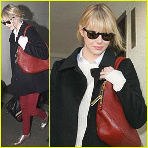 Emma Stone: I Used to Spray Tan A Lot!