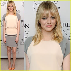 Emma Stone: Revlon's Nearly Naked Makeup Launch!