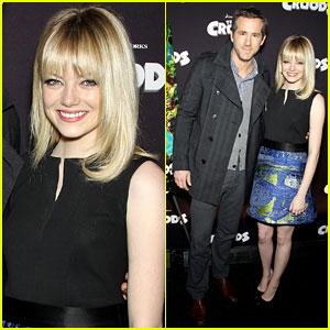 Emma Stone & Ryan Reynolds: Fox Film Slate Presentation!
