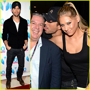 Enrique Iglesias & Anna Kournikova: Y100 Jingle Ball 2012!