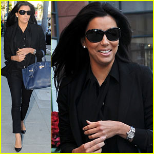 Eva Longoria: Anastasia Salon Beauty Day