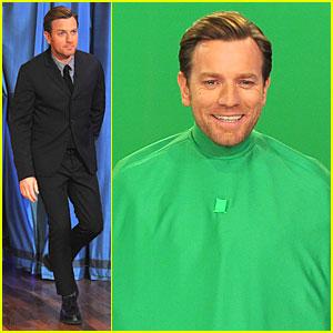 Ewan McGregor: Green Screen Fun with Jimmy Fallon!