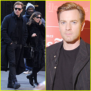 Ewan McGregor: Thank You for Kinds Words About Golden Globe Nomination!