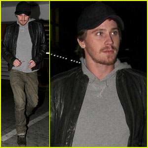 Garrett Hedlund: ArcLight Movie Night!
