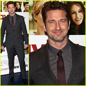 Gerard Butler: 'Playing for Keeps' Screening in London!