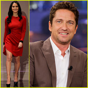Gerard Butler Talks Current Girlfriend on 'Tonight Show'!