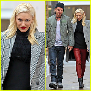 Gwen Stefani & Gavin Rossdale: Holiday Shopping Couple!