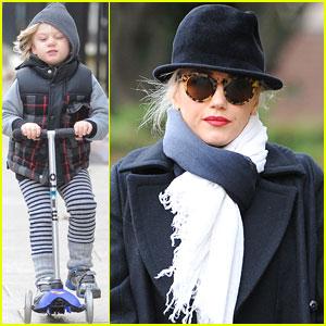 Gwen Stefani: Pub Family Meet-Up!