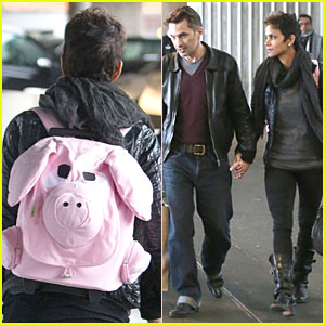 Halle Berry & Olivier Martinez: Paris for the Holidays!