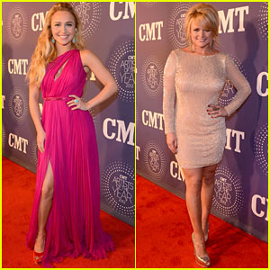 Hayden Panettiere & Miranda Lambert: CMT Artist of the Year!