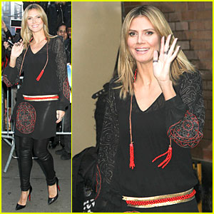 Heidi Klum: 'Good Morning America' Appearance!