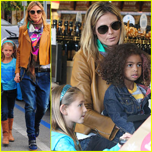 Heidi Klum & Martin Kirsten: Grocery Shopping with the Girls