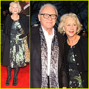 Helen Mirren & Anthony Hopkins: 'Hitchcock' London Premiere!