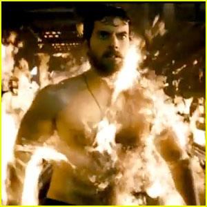 Henry Cavill: 'Man of Steel' Official Trailer!