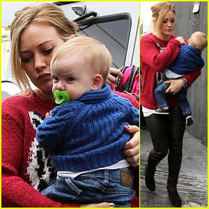 Hilary Duff: Baby's First Class with Luca!