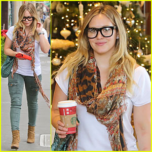 Hilary Duff: Sunday Holiday Shopping!
