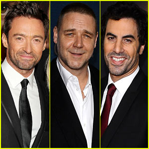 Hugh Jackman & Russell Crowe: 'Les Miserables' NYC Premiere!