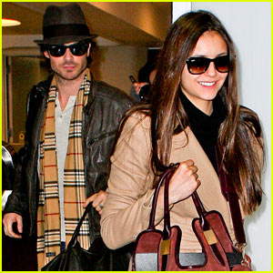 Ian Somerhalder & Nina Dobrev: LAX Lovers!
