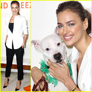 Irina Shayk: ASPCA Adoption Center Visit