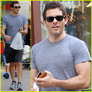 James Marsden: Apple Store Shopper!