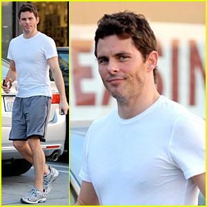 James Marsden: 'Walk of Shame' with Elizabeth Banks!