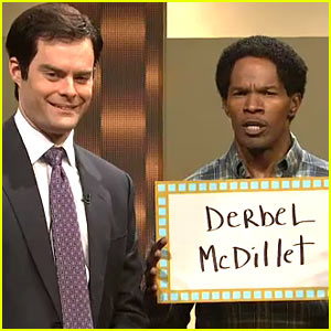 Jamie Foxx: 'SNL' Dylan McDermott or Dermot Mulroney Sketch!