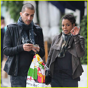 Janet Jackson & Wissam Al Mana: West Hollywood Shoppers!