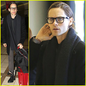 Jared Leto: From LAX to New Orleans!