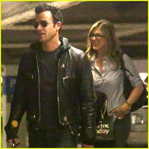 Jennifer Aniston & Justin Theroux: Barneys New York Shoppers!