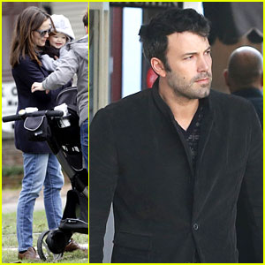 Jennifer Garner & Ben Affleck: Breakfast on Different Coasts