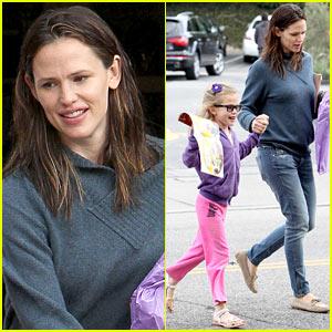 Jennifer Garner & Violet: Brentwood Country Cuties!