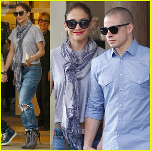 Jennifer Lopez & Casper Smart: Australia Lovers!