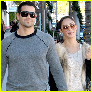 Jesse Metcalfe & Cara Santana: Beverly Hills Lunch Lovers!