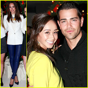 Jesse Metcalfe & Louise Roe: Hukkster Holiday Party!