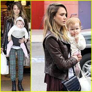 Jessica Alba & Haven: Last Minute Holiday Shopping with Mother Catherine!