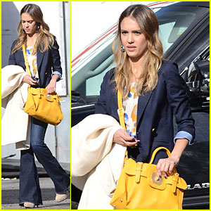 Jessica Alba: Hollywood Film Studio Stop!