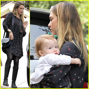 Jessica Alba: Party with the Kids!