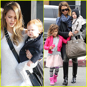 Jessica Alba: Tavern Lunch with the Kids!