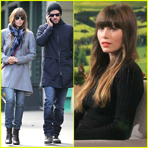 Jessica Biel: 'Good Morning,' Justin Timberlake!