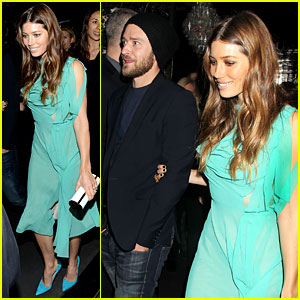 Jessica Biel & Justin Timberlake: 'Playing for Keeps' Premiere After Party!