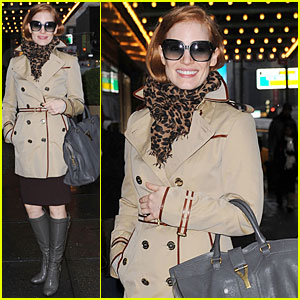 Jessica Chastain: My 'Zero Dark Thirty' Character is Trained to Be Unemotional!