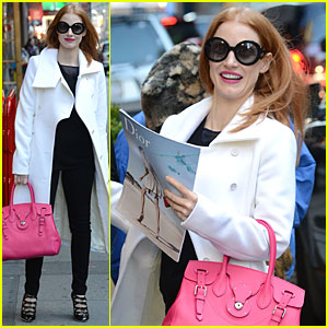Jessica Chastain: 'Zero Dark Thirty' Couldn't Be Made in Los Angeles!