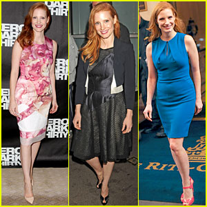 Jessica Chastain: 'Zero Dark Thirty' Promo in New York!