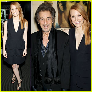 Jessica Chastain: 'Zero Dark Thirty' Screening with Al Pacino!