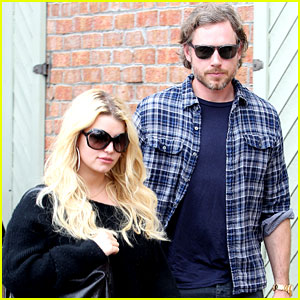 Jessica Simpson & Eric Johnson: Kings Fish House Lunch!