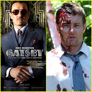 Joel Edgerton: 'Great Gatsby' Poster & Bloody 'Felony' Set Pics!